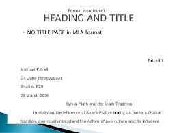 Mla Documentation Ppt Download