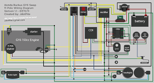 ruckus gy6 swap wiring diagram within 150cc gy6 wiring diagram