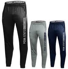 Penn State Under Armour Mens Fleece Joggers Mens Pants