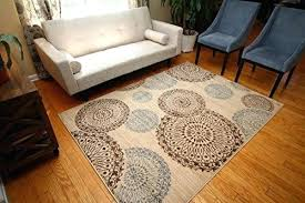 new city contemporary brown beige modern flowers circles wool area rug walls furniture decor rugs hartle brown beige area rugs