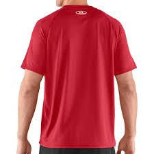 under armour 1228539. under armour men\u0027s short sleeve tech t-shirt red 1228539