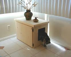 Decorative Cat Litter Box Covers cat litter boxes as furniture The Unique Cat Litter Box Cabinet 81