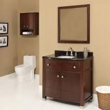 Dark Bathroom Vanity Decolav Adrianna 36 Inch Dark Walnut Bathroom Vanity