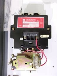 used starters & relays square d 8503 mechanically held lighting 3 Pole Contactor Wiring Diagram at Square D Lighting Contactor Wiring