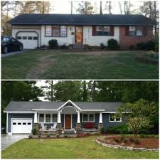 Ranch House Curb Appeal Craftsman Versus Ranch Remodel Decisions Curb Appeal Exterior