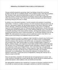 Personal Statement Grad School Samples Grad School Personal Statement Examples Template Business