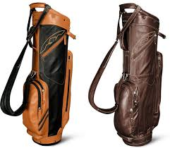 sun mountain leather series golf bags