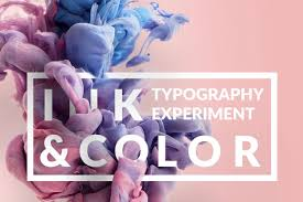 Typography Design Template Ink Typography Design Template For Premium Members