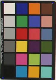 Gretagmacbeth Colorchecker Chart Download Scientific Diagram