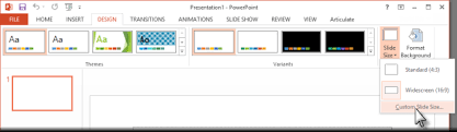 Design For Powerpoint 2013 Choosing A Presentation Size E Learning Heroes