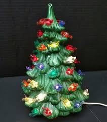 Ceramic Christmas Tree With Bird Lights Details About Beautiful Vintage Ceramic Christmas Tree 10