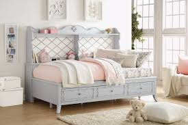 day beds with storage. Simple Day Acme 39165 Edalene Gray Finish Wood Twin Day Bed With Storage Drawers And  Back Shelves Inside Day Beds With Storage R