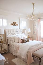 Bedroom, Rose Gold Bedroom Set Brown Comforter Pinky Teddy Bear Pink ...