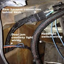 mustang american autowire wiring harness 1965 1966 installation mustang american autowire wiring harness install image