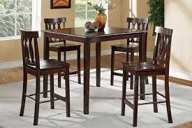high dining tables and chairs gray wicker