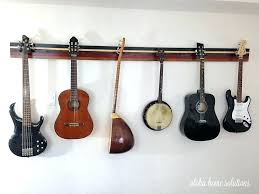 wall hanger for guitar aloha home solutions guitar wall rack wall hanger guitar stand guitar hand guitar wall rack