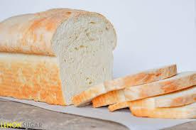 White Sandwich Bread Lemon Sugar