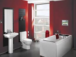 red bathroom color ideas. Modern Bathroom Small Design In Red And White Color Scheme The Hottest With Resolution 1920x1440 Ideas