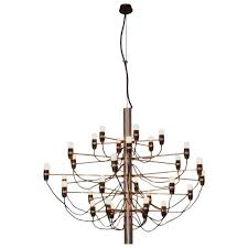early 2097 30 chandelier by gino sarfatti for arteluce for