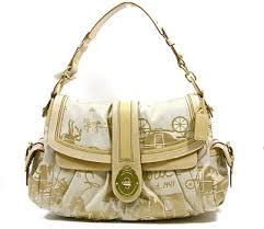 COACH Legacy Horse Carriage Large Flap Hobo