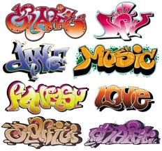 free font designs beautiful graffiti font design 02 vector free vector in