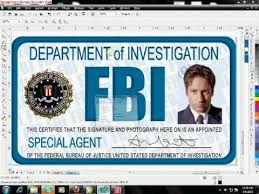 Make Your Own Fbi Id Card Free