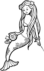Small Picture Mermaid Coloring Page And Coloring Pages Mermaids Eson Me Coloring