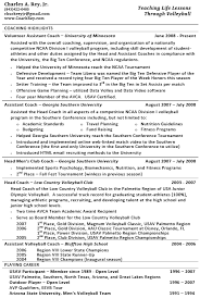 Usa Soccer Coaching Resume / Sales / Coach - Lewesmr Sample Resume: Sle Resume Volleyball Coach Template