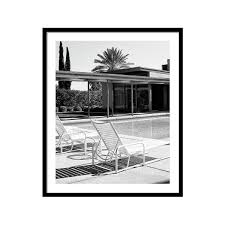 sinatra pool bw palm springs by william