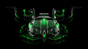 monster energy lamborghini aventador front fantasy plastic car
