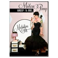 micheline pitt modern pinup makeup hair dvd