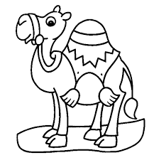 Small Picture Camel Coloring Pages Camel Coloring Pages Kidsjpg clarknews