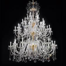 veronese large venetian crystal chandelier 20 20 10 5 lights