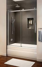 sliding glass tub doors sliding glass bathroom barn doors