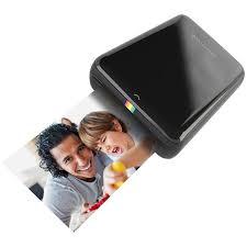 <b>Принтер Polaroid Zip</b>, <b>Black</b> карманный POLMP01B, цвет черный ...