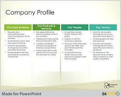 Company Overview Templates Best Business Or Company Profile Templates Samples Word