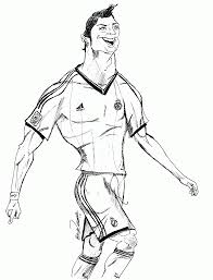 Soccer Coloring Pages Ronaldo High Quality Coloring Pages