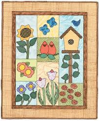 How to Finish Quilt - How to Finish the Garden of Delights Quilt ... & Garden of Delights Quilted Wall Hanging Pattern Adamdwight.com
