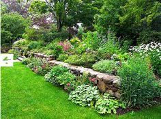 Small Picture Pastel Retaining Wall Garden Plan 3 Garden Luv Pinterest