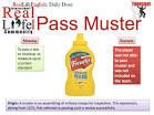 pass muster