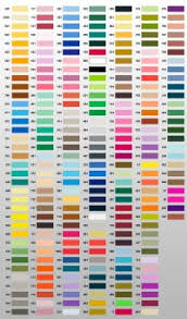 Metro Embroidery Thread Color Chart Metro Embroidery