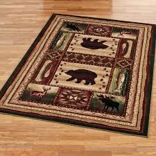 cabin area rugs camo rugs rustic rugs