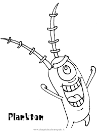 Disegno Spongebob08 Personaggio Cartone Animato Da Colorare