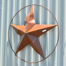 texas star outdoor wall art