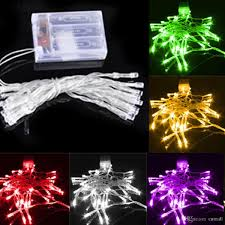 20 Led Lights Battery Operated 2m 20led 3xaa Battery Operated Led Strings Led Garland String Lights Christmas Lights Holiday Party Decoration Portable Strings Led Lighting Light