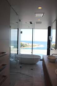 custom frameless 3 panel front and return shower screen coogee