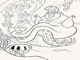 Find the most amazing disney coloring pages at coloring pages for kids. Little Mermaid Ursula Coloring Pages Head Best Coloring Page Site Coloring Home