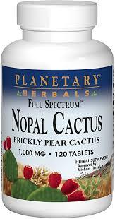 Planetary Herbals Full Spectrum Nopal Cactus 1000 ... - Amazon.com