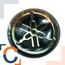 yamaha emblem gold