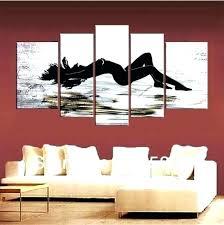 wall art ideas for bedroom abstract home design teenage diy